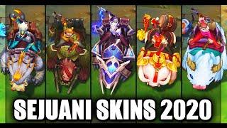All Sejuani Skins Spotlight 2020 (League of Legends)