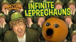 Annoying Orange - Infinite Leprechauns!