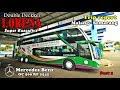 Naik Bus Tingkat LORENA SUPER DOUBLE DECKKER Malang Semarang Part 1