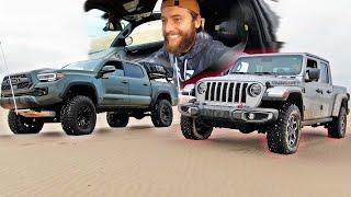 2020 Tacoma TRD Pro vs 2020 Jeep Gladiator (I ALMOST BROKE MY TRUCK)