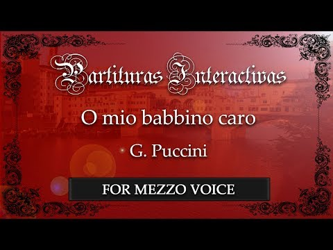 O mio babbino caro - G. Puccini (Karaoke - Key: E-flat major) (Bonus track)