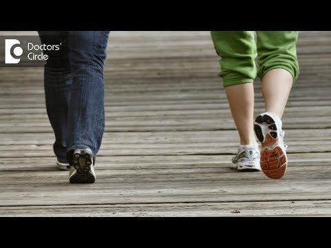 Causes of leg pain after a brisk walk - Dr. Manjunath A