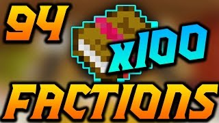 "Minecraft Factions VERSUS: Episode 94 ""100x ELITE BOOKS!!!"""