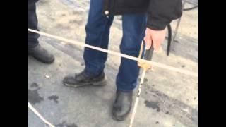 ремонт кровли зимой в алматы(кровля потекла на гарантии., 2014-12-08T02:44:43.000Z)