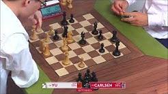 GM Yu (China) - GM Carlsen (Norway) FF + PGN