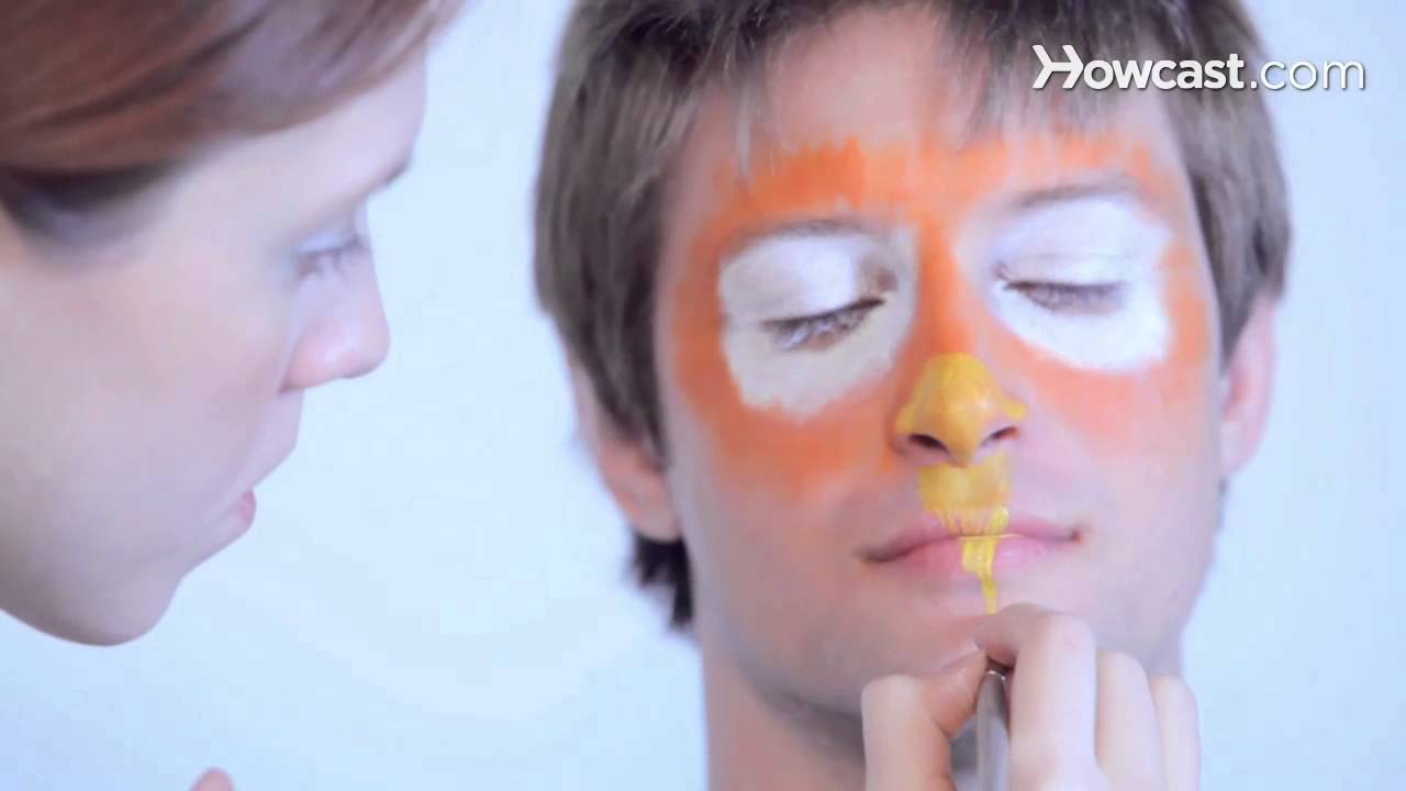 how to stop face paint from cracking