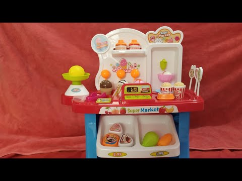 Unboxing& Toy Review of Mini SuperMarket play set/ Pretend play for kids/Current Offer price: RS.699