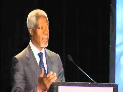 Fighting Hunger conference - Kofi Annan speech