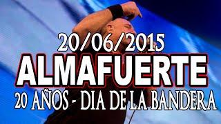 Almafuerte - Estadio Malvinas Argentinas 20/06/2015 - 20 años (Cobertura)