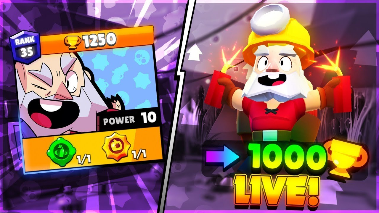 Dynamike to 1000 Trophies - LIVE Push!