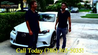 Lexus IS 250 F Sport  |  Lexus  Lease Specials | Evolution Leasing Miami