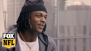 Davante Adams shares his return home to face off the Rams with Erin Andrews | FOX NFL