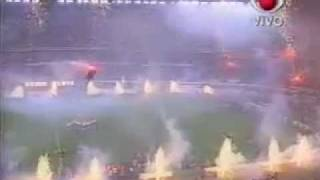 River Plate Campeon Supercopa 1997 - Recibimiento Vs. San Pablo