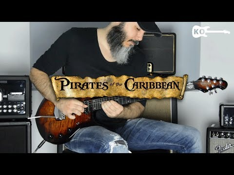 Pirates Of The Caribbean Theme - Metal Guitar Cover By Kfir Ochaion