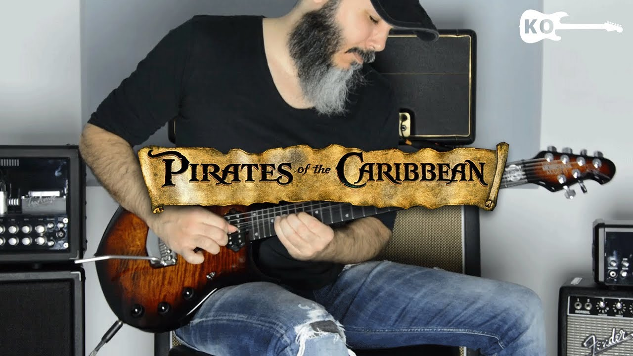 Download Pirates of the Caribbean Theme - Metal Guitar Cover by Kfir Ochaion