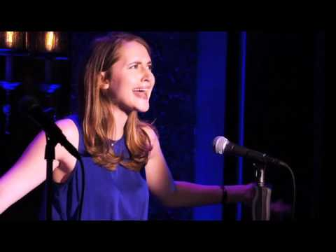 Crossword Puzzle - performed by Lucie Ledbetter at 54 Below (from the Harvard-Yale Cantata)