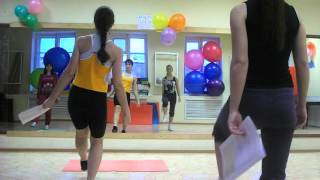 Курсы по подготовке инструкторов по фитнесу. Закирова Евгения
