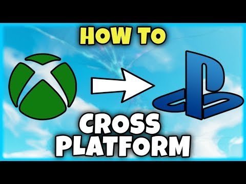 FORTNITE CROSS PLAY IS HERE! | PS4 & Xbox Squads