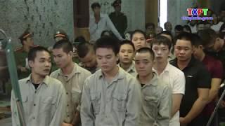 Tuyên phạt hơn 30 năm tù nhóm thanh niên gây rối trật tự công cộng tại thị xã Phú Thọ