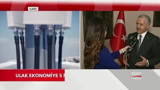 Ulaştırma Bakanı Ahmet Arslan TGRT Haber'de