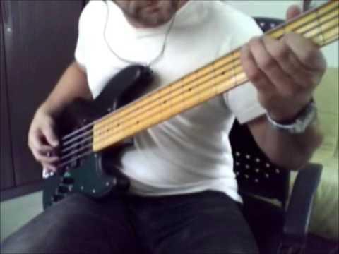 Stoopid | Snot Bass Cover | Fender Jazz Bass Modern Player V