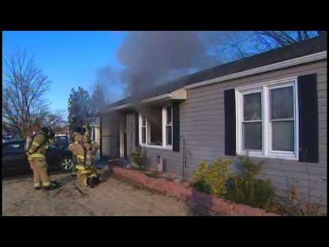Heater causes Newport fire [Delaware Online News Video]