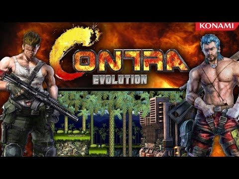 Contra Evolution Walkthrough HD - 2 Player Coop (PC)