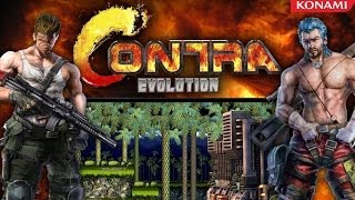 Repeat youtube video Contra Evolution Walkthrough HD - 2 Player Coop (PC)