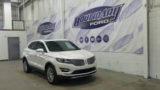 Pre-owned 2015 Lincoln MKC 102A W/ 2.0L EcoBoost, Moon Roof Overview | Boundary Ford