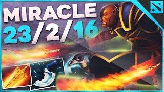 Miracle Ember Spirit 2019 | Dota 2 Pro Gameplay / Highlights | 7.21b