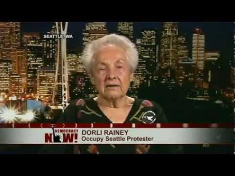 84-Year Old Dorli Rainey, Pepper-Sprayed at Occupy Seattle, Denounces Police Crackdowns
