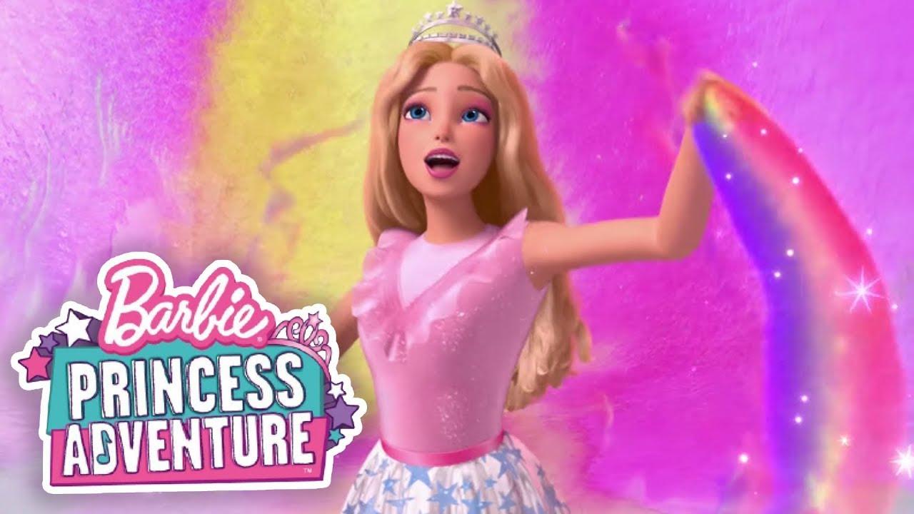"""Download """"VIDA A COLORES"""" Video Oficial con letra🎨🌈   Barbie Princess Adventure   @Barbie Latinoamérica"""