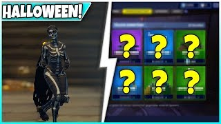 💀 Halloween Skins in the shop! 🛒 SHOP from TODAY: Skull Trooper and Ranger! - Fortnite