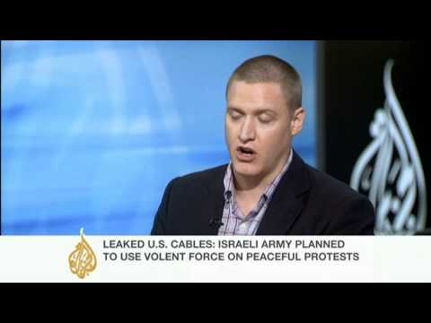 US cable tells of Israel's 'harsh measures'