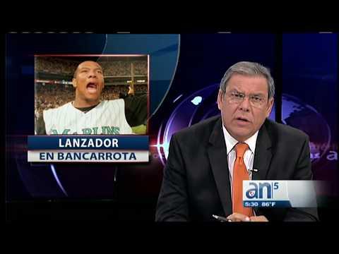 Liván Hernández, lanzador cubano de los Marlins se declara en bancarrota  - América TeVé
