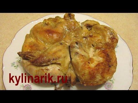 Цыпленок рецепт с фото в духовке в рукаве