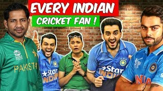 EVERY CRAZY INDIAN CRICKET FAN BE LIKE | The Baigan Vines