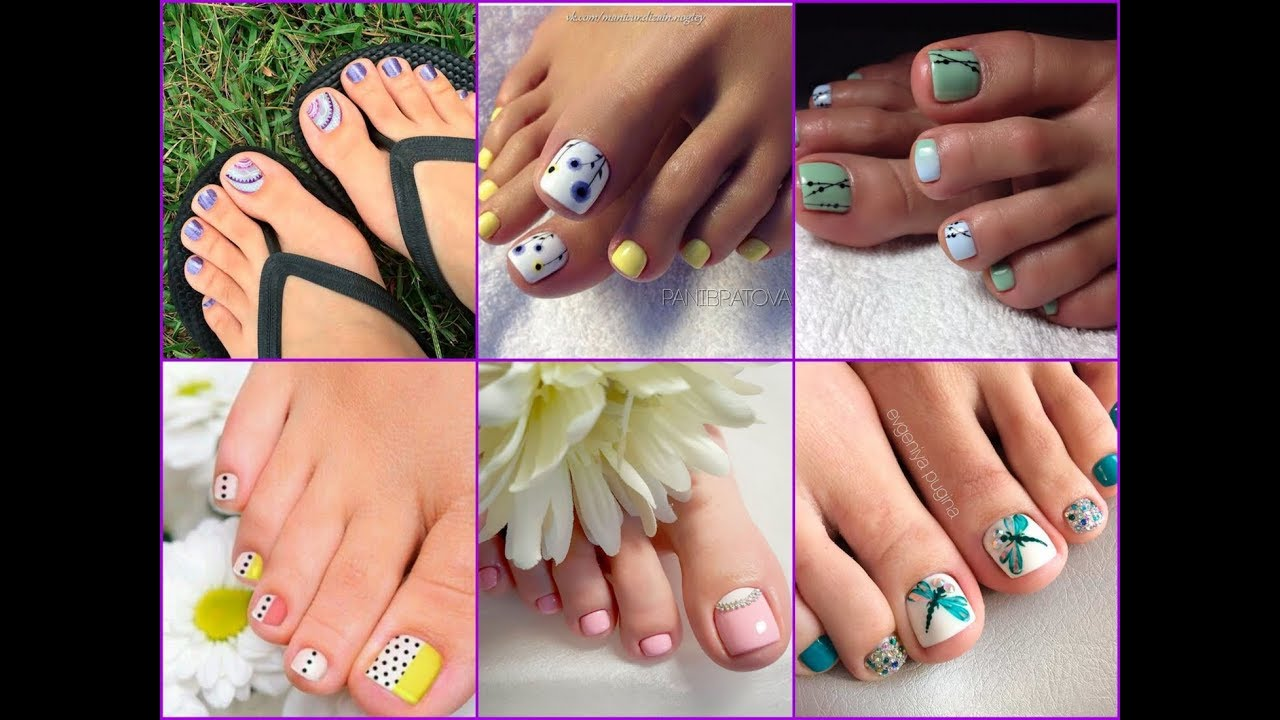 50+ Beautiful Toe Nail Art Designs Ideas for Spring Summer 2018 - 50+ Beautiful Toe Nail Art Designs Ideas For Spring Summer 2018
