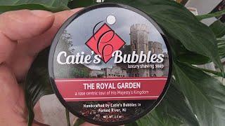 Catie's Bubbles - Royal Garden Soap - Kai Razor Blade - Gillette Heritage Safety Razor Review
