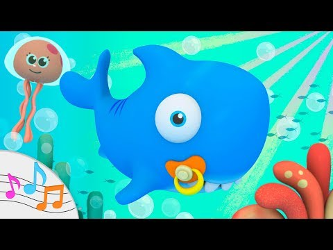 🦈 BABY SHARK 🦈 The Shark Family Song With The Pijama Friends 🎶 Nursery Rhymes And Kid Songs