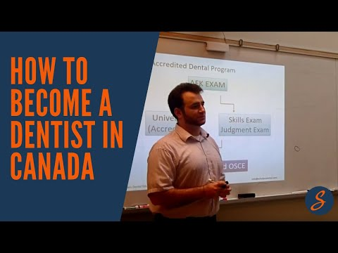 How To Become A Dentist In Canada (NDEB)