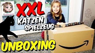 KATZEN IM SPIELZEUG PARADIES 🐱 Unsere Kater testen ihre neue Spielsachen 🐱 Unboxing XXL