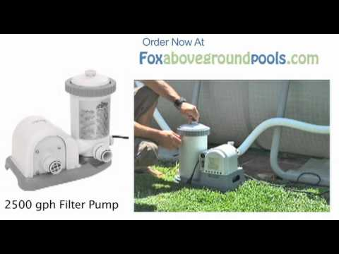 Intex pool filter pump hook up
