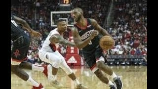 Houston Rockets vs Portland Trailblazers NBA Full Highlights (12TH DECEMBER 2018-19)