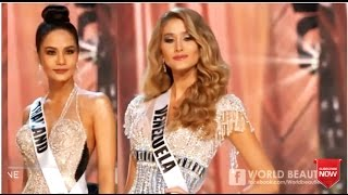 2017 Best in Evening Gown - Miss Universe Competition OVERALL PERFORMANCES