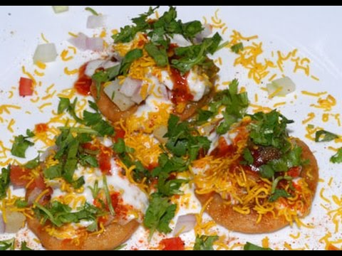 Dahi Papdi Chaat | INDIAN RECIPES | WORLD'S FAVORITE RECIPES | HOW TO MAKE