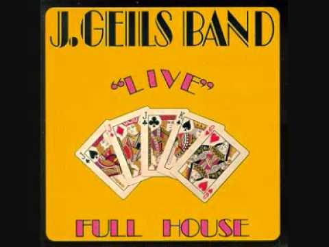 J Geils Band - Whammer Jammer (Full House Live)