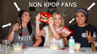 REACTING TO BTS WHILE EATING SPICY RAMEN - CHALLENGE MP3