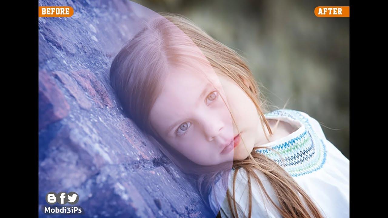 دروس الفوتوشوب : تغيير ألوان الصورة Photoshop Soft light Photo Effect