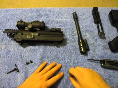How To: Field Strip Sig Sauer MPX 9mm